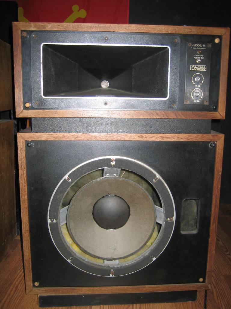 My $50 Altec Lansing Model 14's   Audiokarma Home Audio Stereo